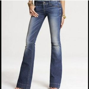 EXPRESS Stella Fit and Flare Jeans 10 Long